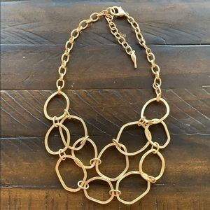 Chloe + Isabel Modern Links Two-Row Necklace